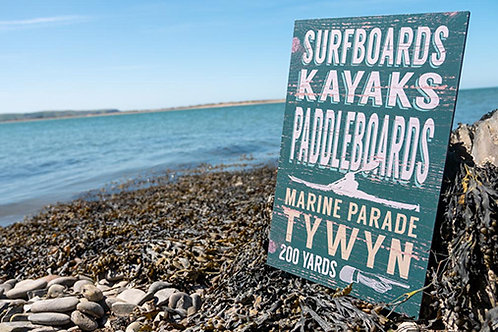 Tywyn Marine Parade Sign