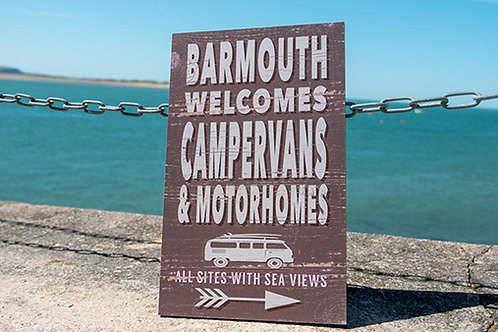 Barmouth Campervans & Motorhomes Sign