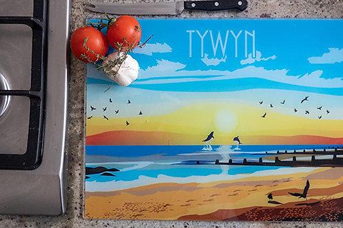 Tywyn Sunset Chopping Board