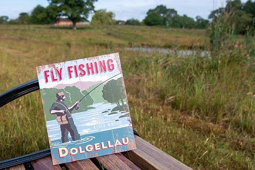 Fly Fishing Dolgellau Sign