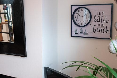 Seashore Clock