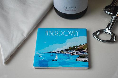 Aberdovey Ceramic Drinks Coaster