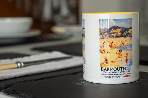 Barmouth Vintage Railway Mug