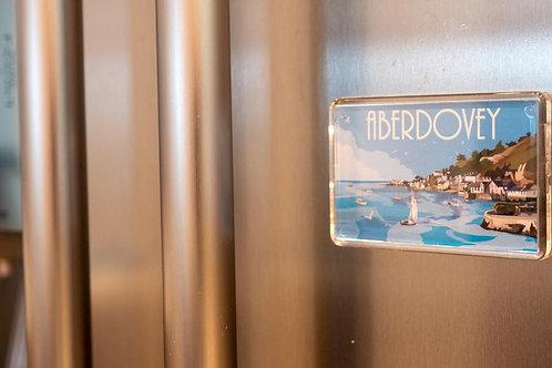 Aberdovey Plastic Fridge Magnet