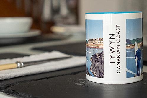 Tywyn Beach Mug