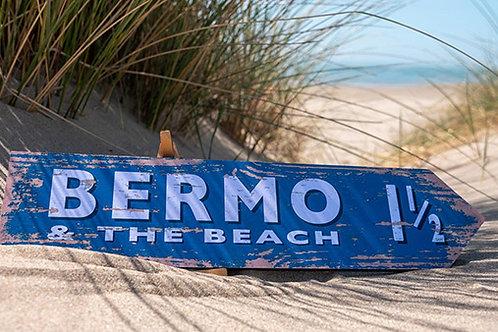 Bermo Beach To The Beach Sign