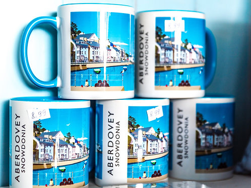 Aberdovey Church Bay Mug