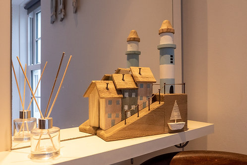 Wooden Houses & Lighthouse