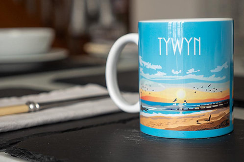 Tywyn Sunset Mug