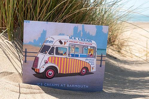 Ice Creams At Barmouth Sign