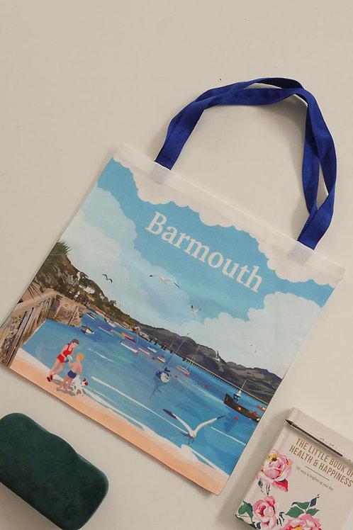 Barmouth Beach Tote Bag