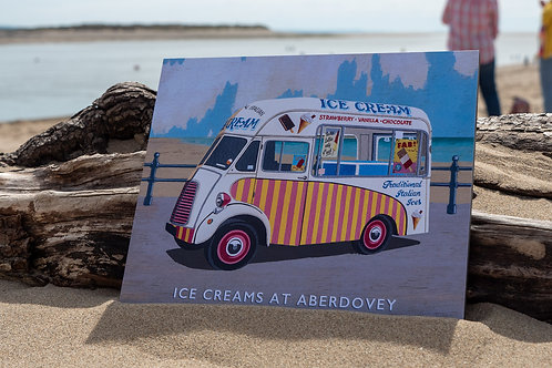 Ice Creams At Aberdovey Sign