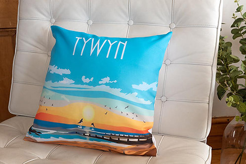 Tywyn Sunset Cushion