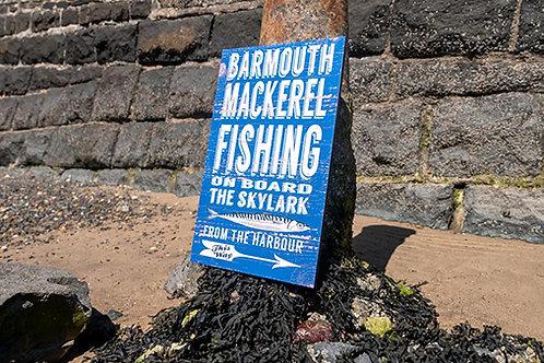 Barmouth Mackerel Fishing Sign