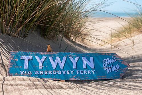 Tywyn Via Aberdovey Ferry