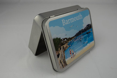 Barmouth Beach Tin Box