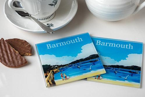 Barmouth Glass Drinks Coaster