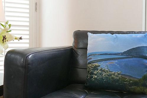Barmouth Bridge Cushion