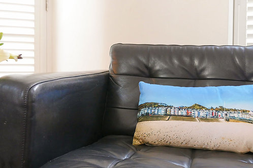 Aberdovey Houses Cushion