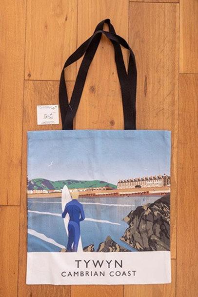 Tywyn Beach Tote Bag