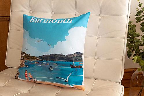 Barmouth Beach Cushion