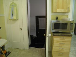 Kitchen - Door to basement
