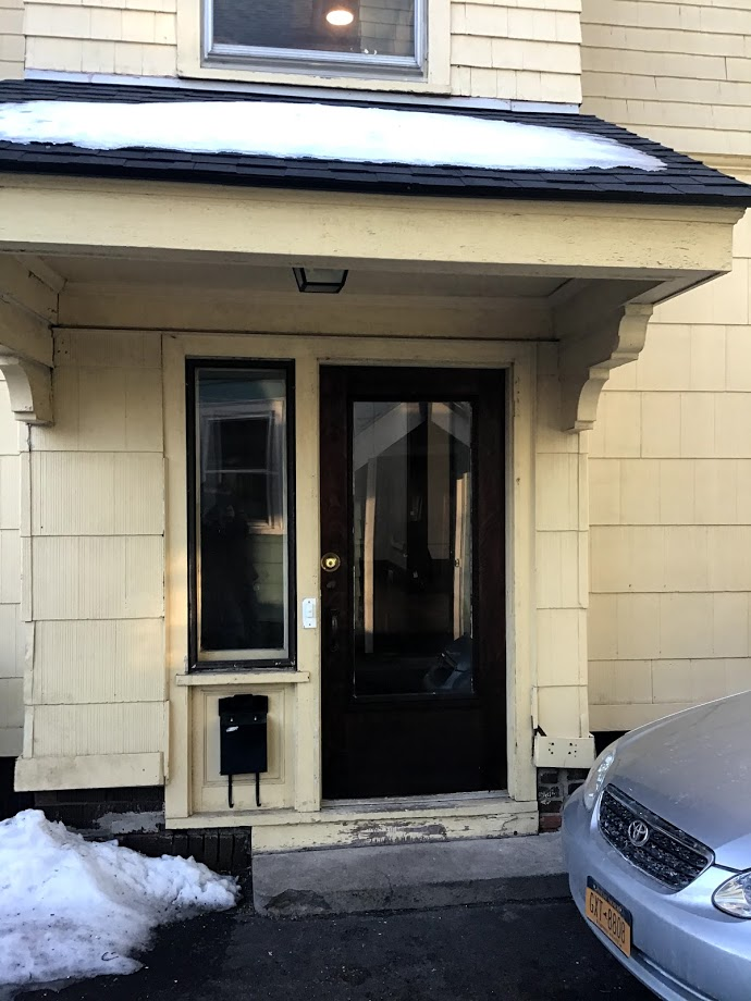 25 Entrance door