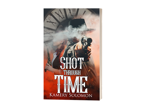 """Shot Through Time"" Signed Paperback"