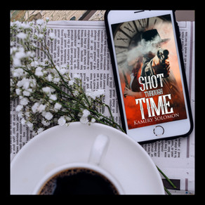 Shot Through Time is now available to read and thrilling readers to no end!