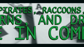 What do pirates, raccoons, babies, unicorns, and dragons have in common?