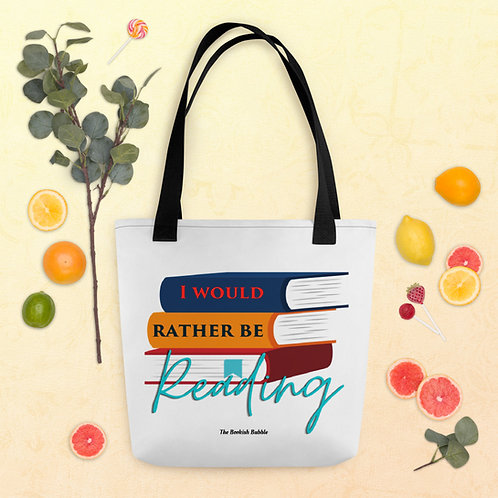 I would rather be reading Tote