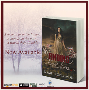 Tumble through time and experience a romance you'll never forget in Finding Freedom, available f