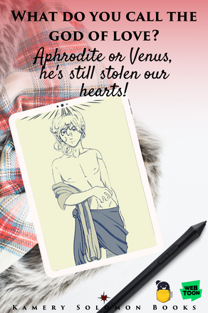 What do you call the God of Love? Aphrodite or Venus, he's still stolen our hearts!