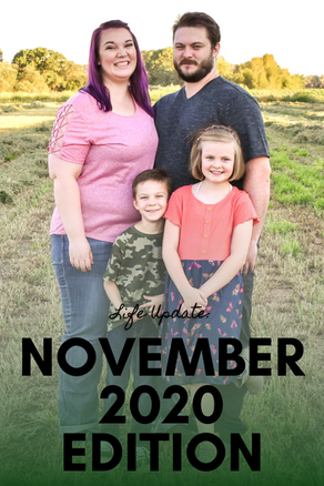 Life Update: November 2020 Edition