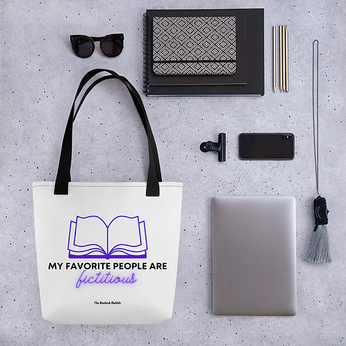 My favorite people are fictitious Tote
