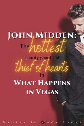 John Midden: the hottest security guard and thief of hearts in What Happens in Vegas