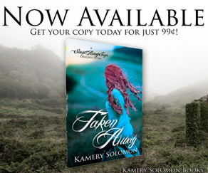 Happy Release Day--Taken Away Is Now Available For Purchase!