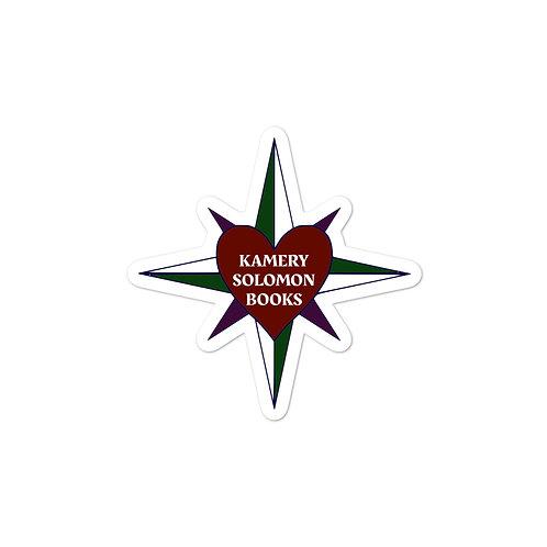 Kamery Solomon Books Logo Bubble-free stickers