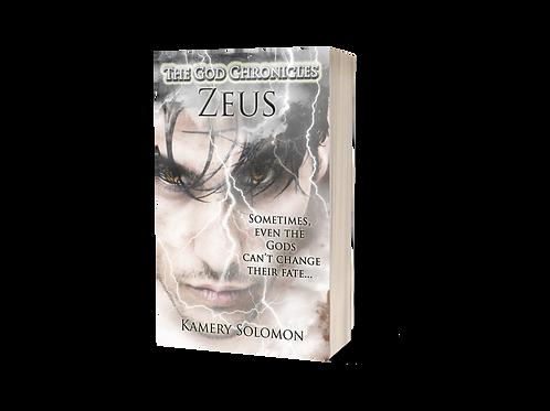 """Zeus"" Signed Paperback"