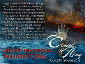 Carried Away (The Swept Away Saga #2) Releases February 7, 2016