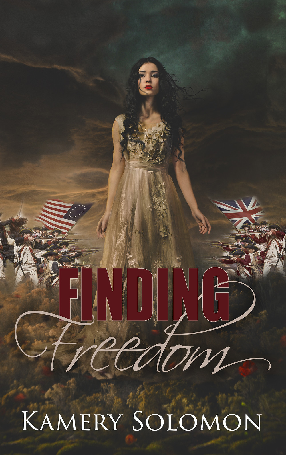 Finding Freedom: A Time Travel Romance by #1 Bestselling Genre Author Kamery Solomon