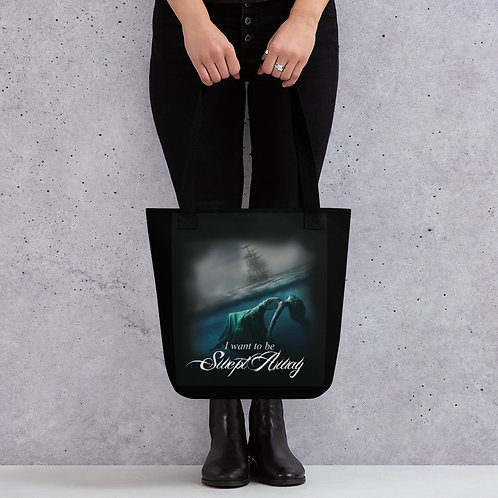 """""""I want to be Swept Away"""" Tote bag"""