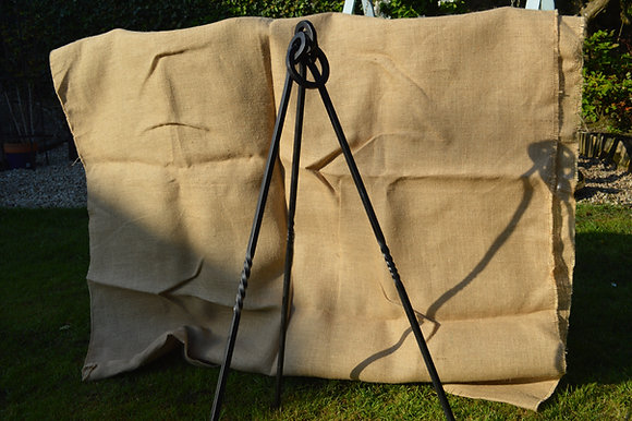 Small Camp cooking tripod