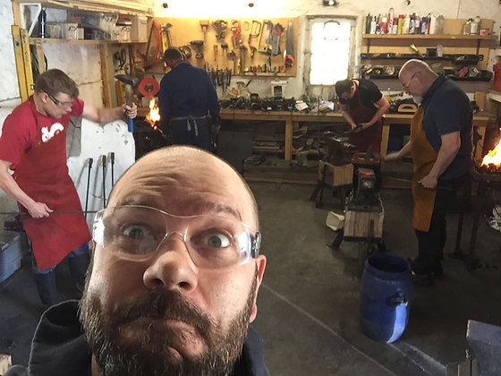 Group Beginner Blacksmithing Class