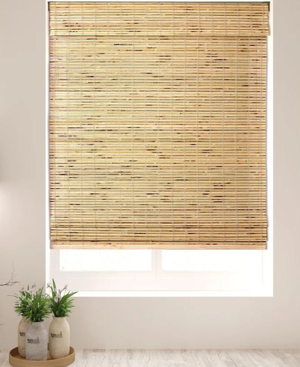 Arlo Blinds Petite Rustique Bamboo Roman Shades