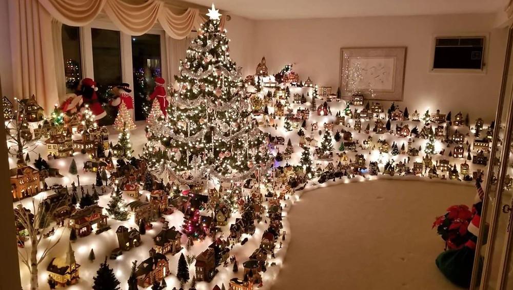 Insane Christmas Village Collection