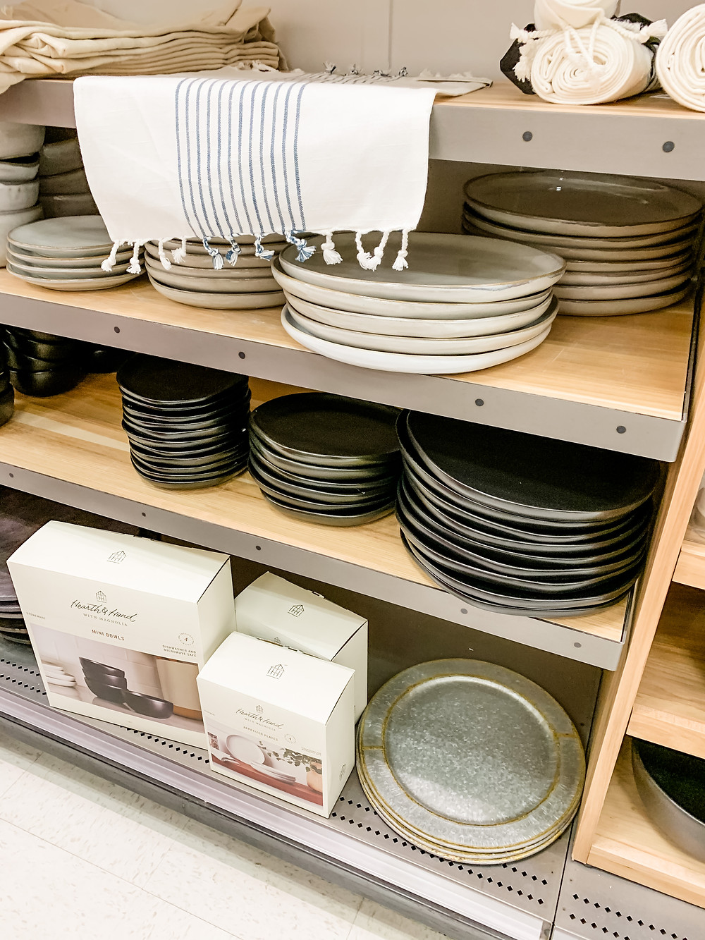hearth and hand magnolia target stoneware plates and dinnerware
