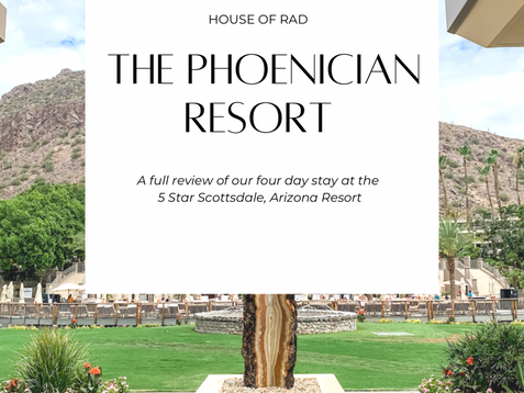 A LUXURY STAY AT THE PHOENICIAN RESORT