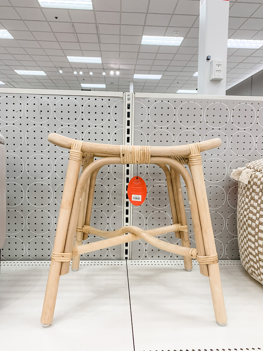 natural rattan ottoman from opalhouse at target
