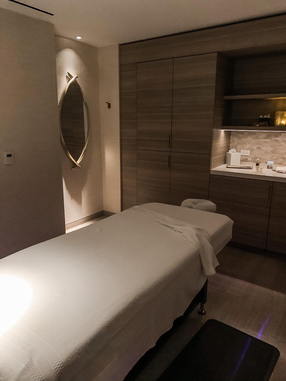 The Phoenician Resort Scottsdale Arizona Spa Massage Room